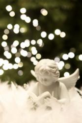 Bild 1: Weihnachtskarten mit Engelmotiven