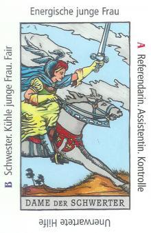 Dame der Schwerter - Anraths Tarot