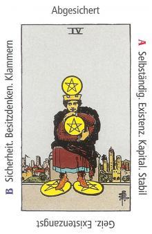 Vier Münzen - Anraths Tarot